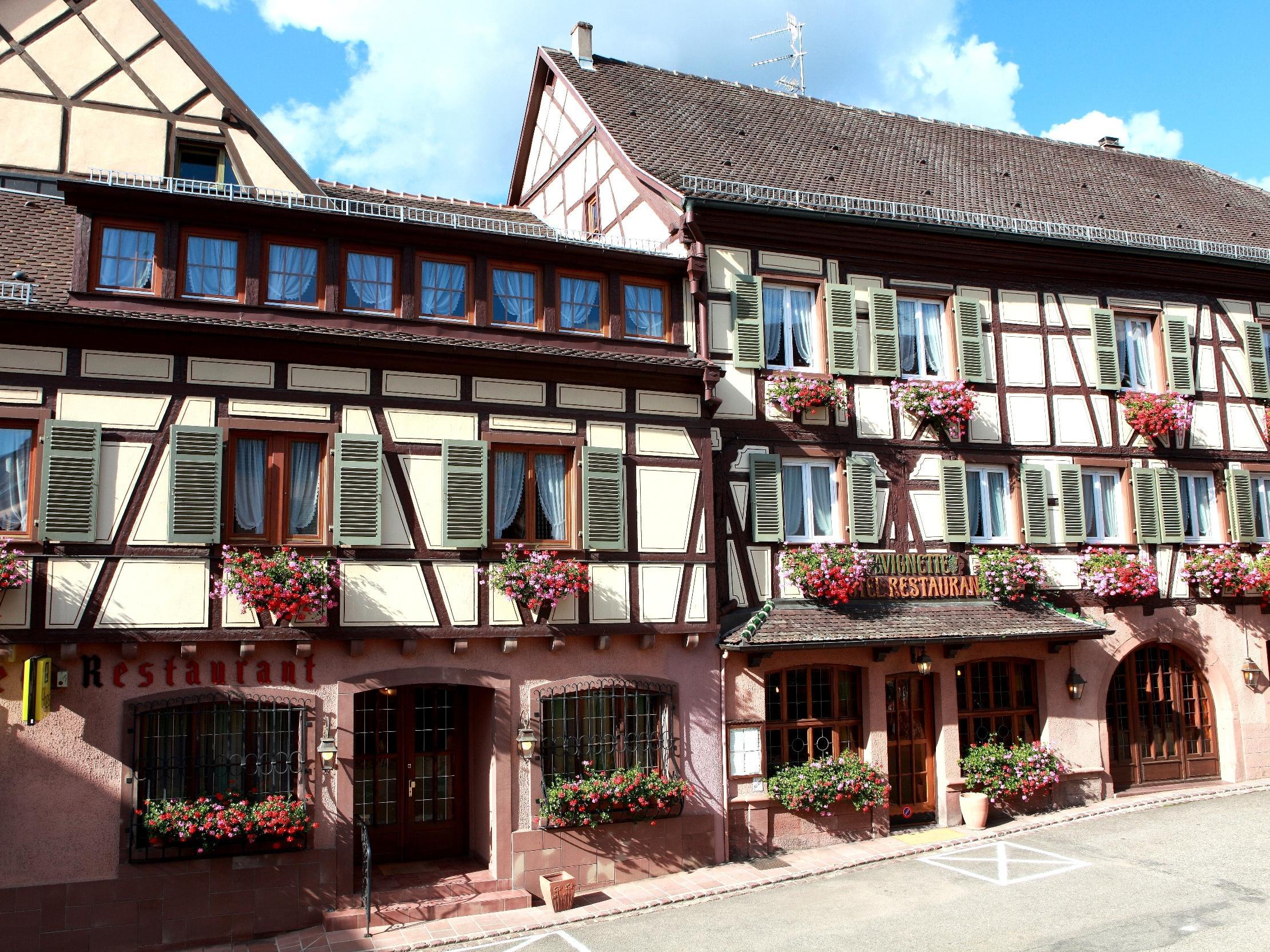 Hôtel Restaurant à la Vignette, Hôtel Logis ST HIPPOLYTE, aufenthalt ...