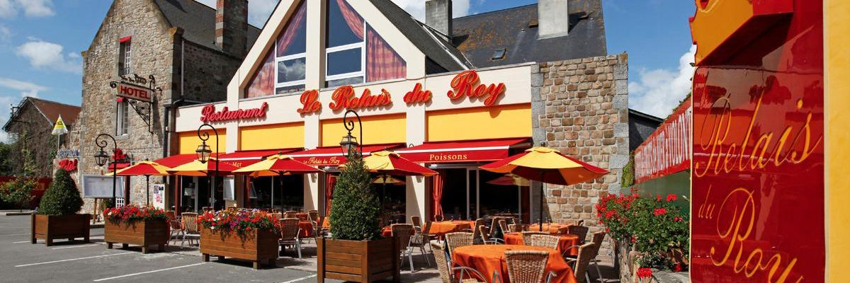 h 244 tel relais du roy h 244 tel logis le mont st michel stay lower normandy
