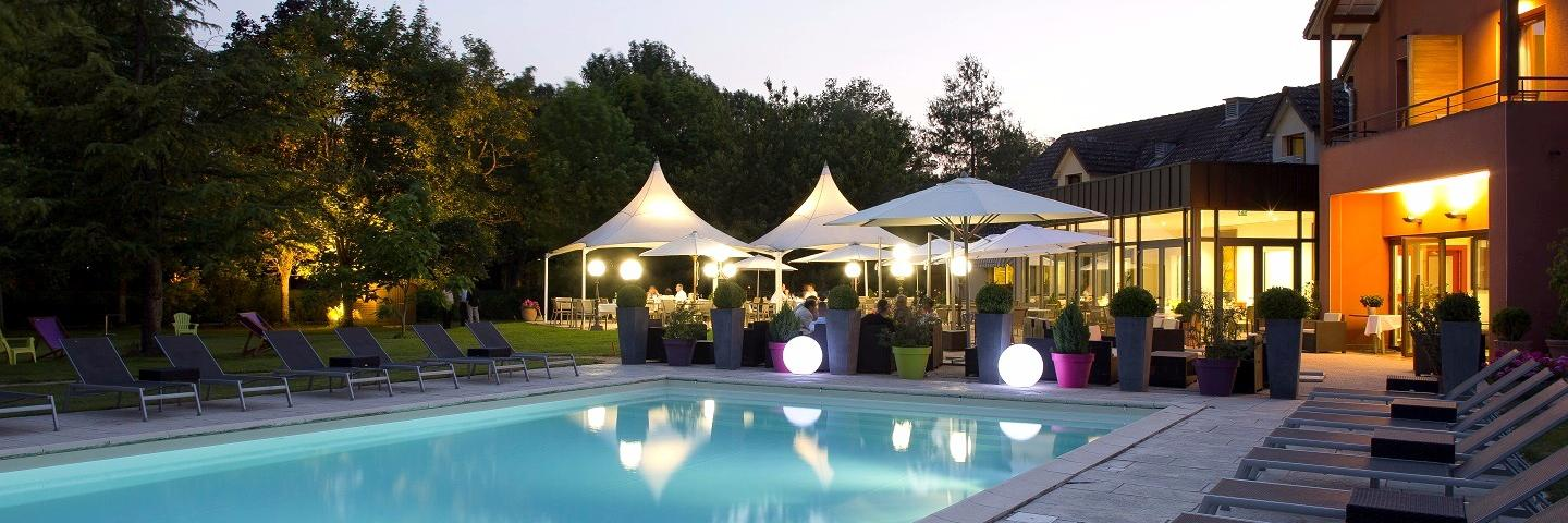 Le Dracy Hôtel & Spa Rest. La Garenne -