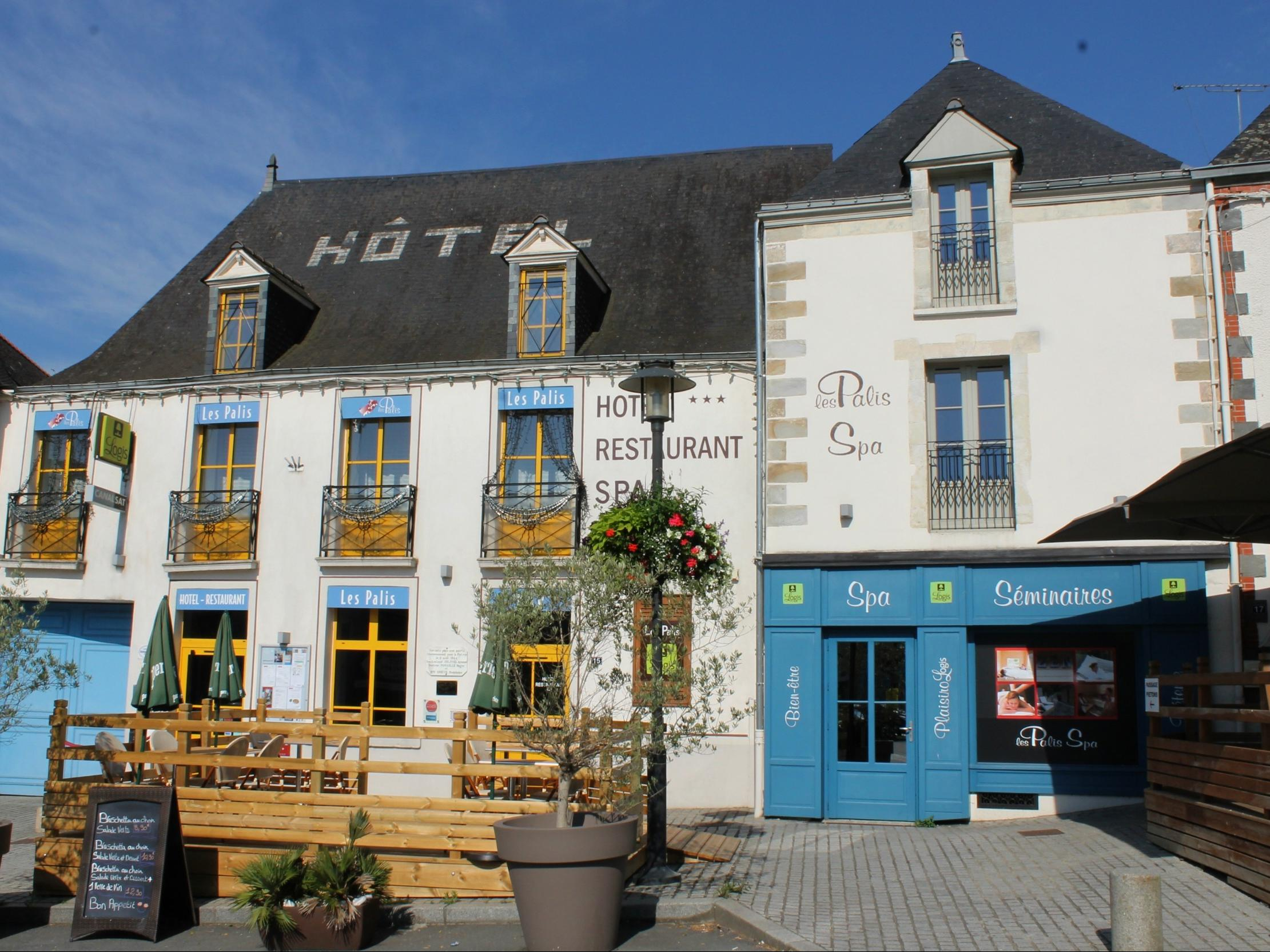Hotel Les Palis Spa Hotel Logis Grand Fougeray Stay Brittany