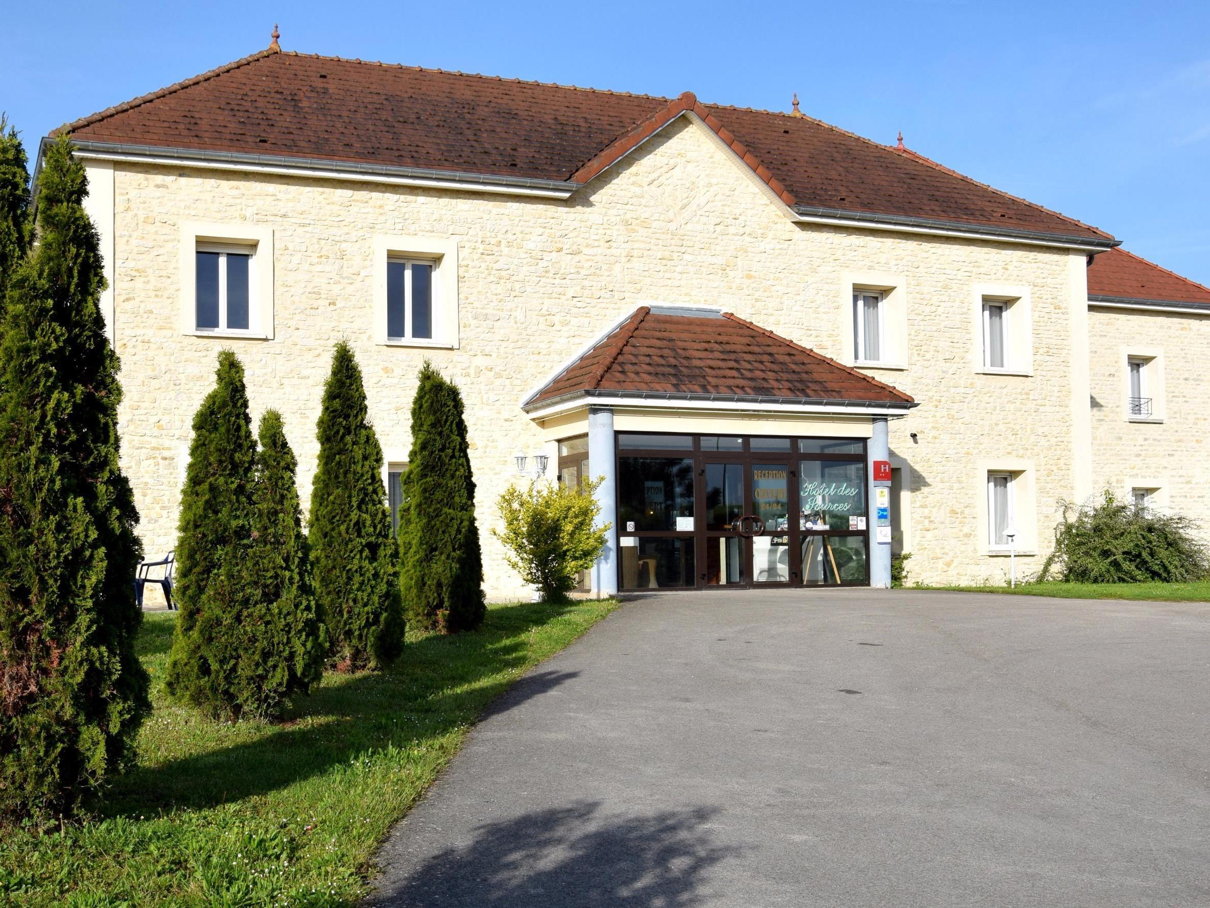Hotel Des Sources Logis CRENEY PRES TROYES Aufenthalt Champagne Ardennen