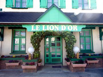 Logis l'Hostellerie du Lion d'Or - logis-hotel-le-confluent-bar-reception-pontaumur-146365
