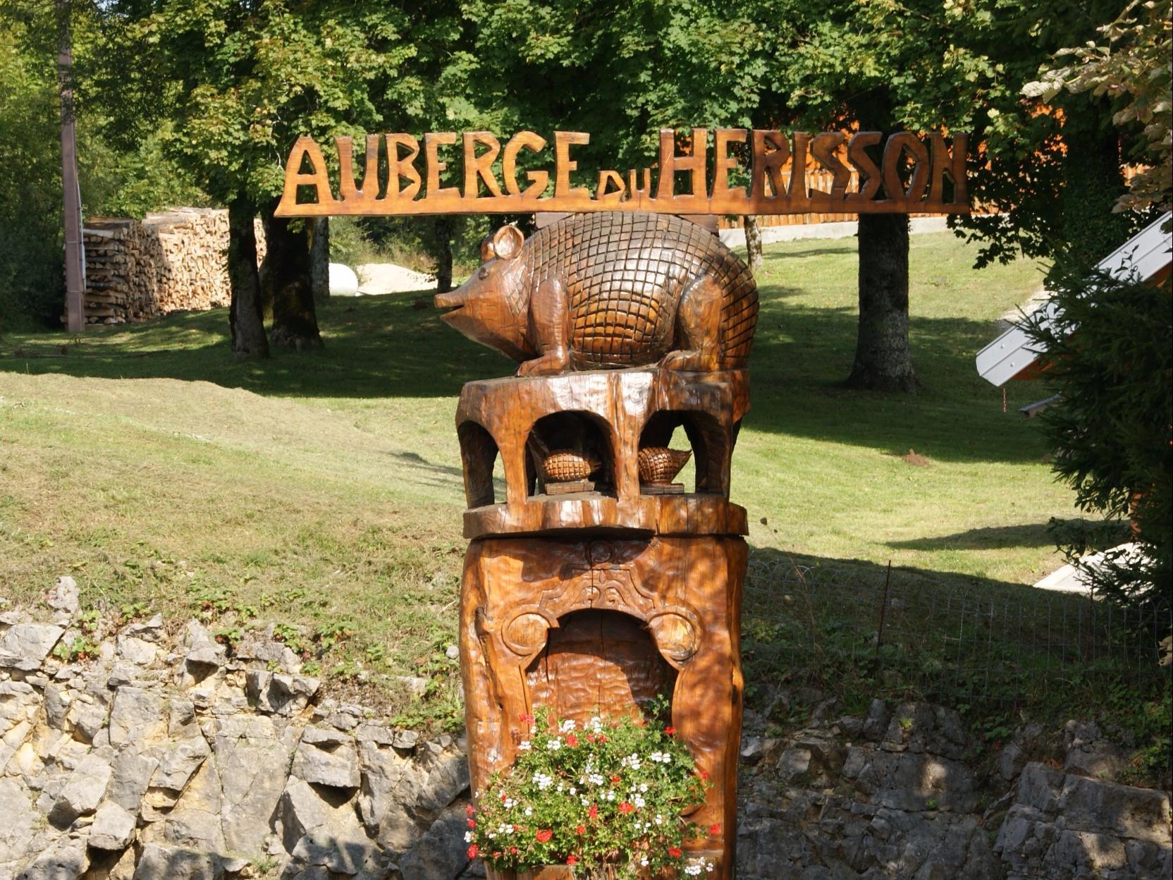 Auberge du herisson chaux du dombief for Auberge du jardin