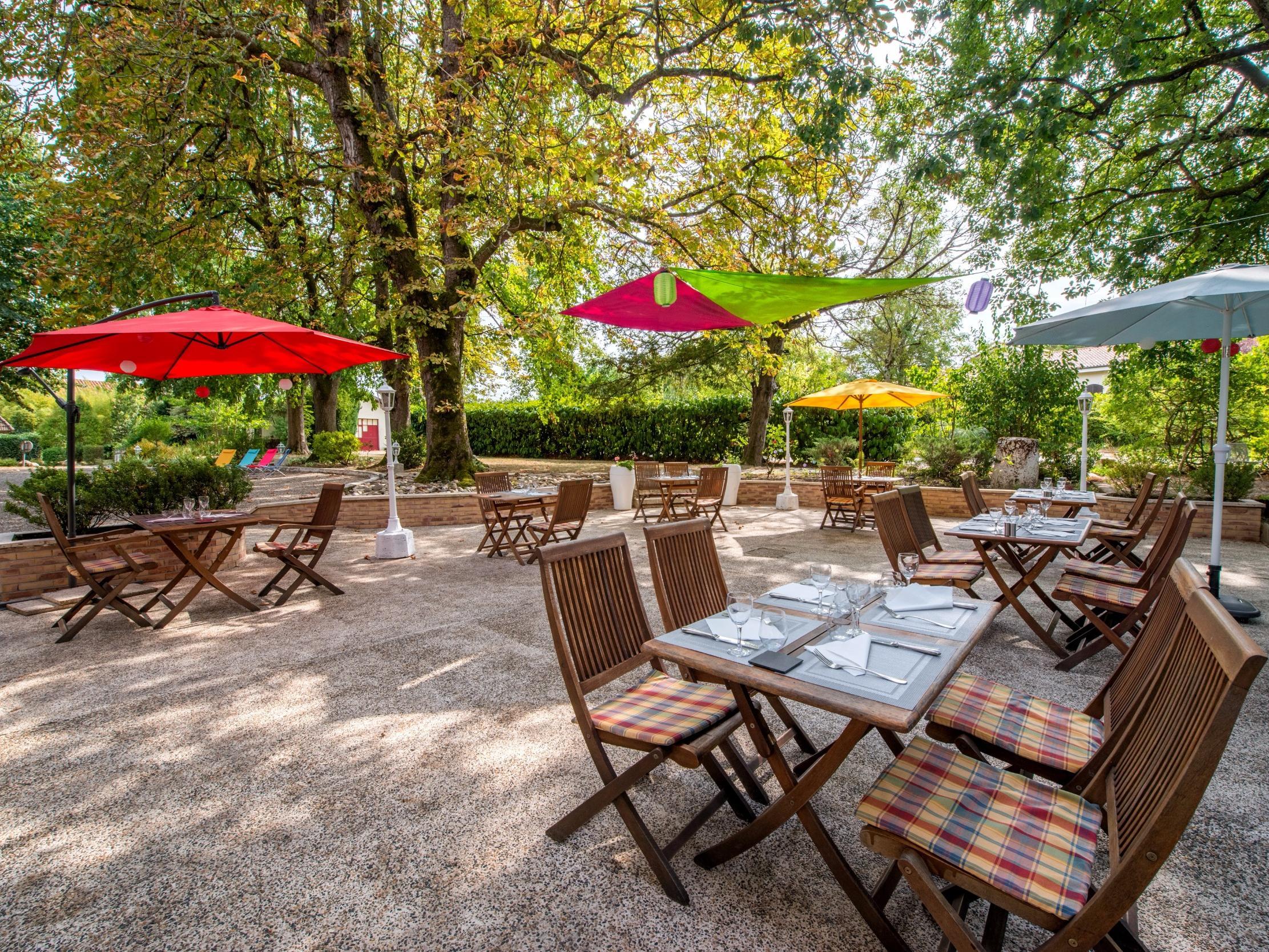 Au colombier du touron hotel restaurant brax for Hotel du jardin menu