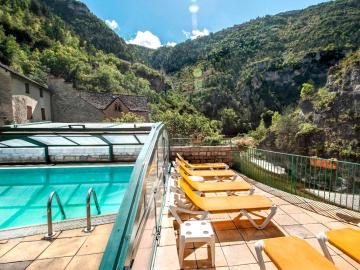 Logis Auberge De La Cascade Hotel Logis Ste Enimie Sejour Languedoc Roussillon