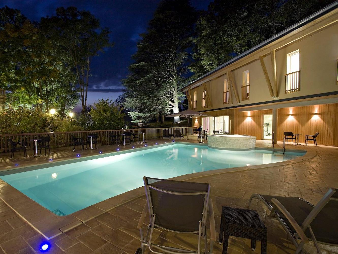 Hotel Restaurant Spa Parenthese Hotel Logis Chille Stay Franche Comte